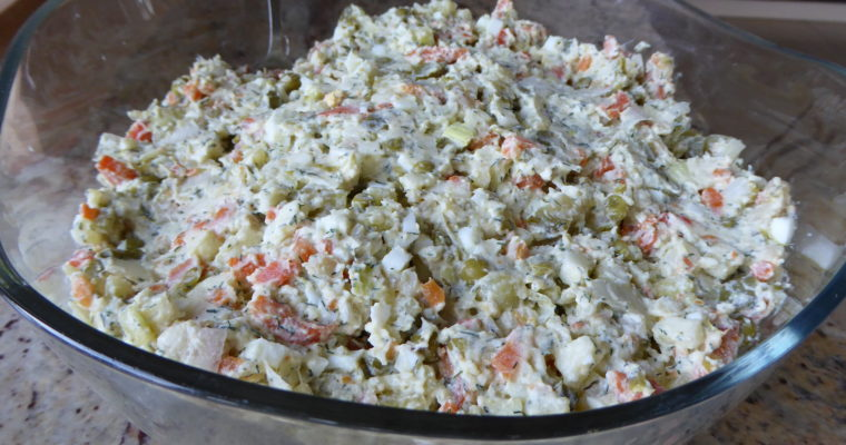 Sałatka warzywna teściowej
